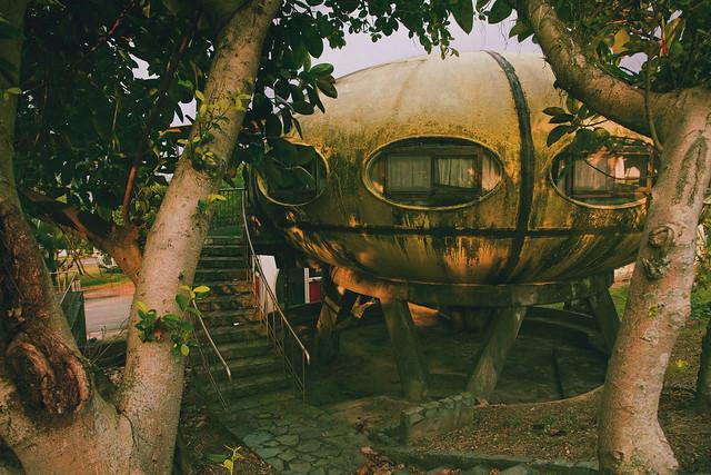 Taiwan UFO house