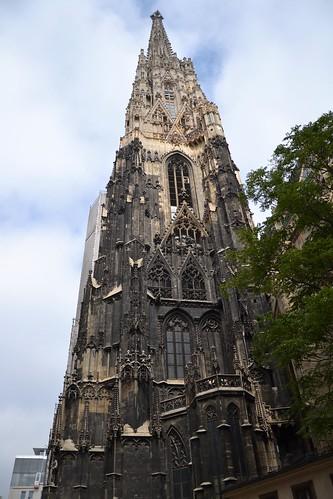Torre de aguja de la Catedral de San Esteban