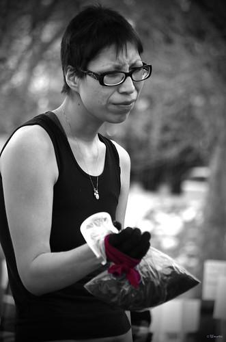 Occupy Calgary - Sarah 1 by Wanderfull1