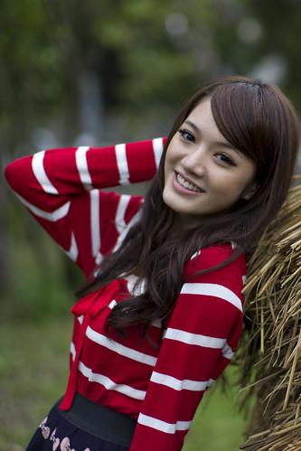 無料写真素材, 人物, 女性  アジア, 台湾人, Tシャツ
