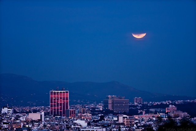 lunar eclipse beyond pendeli