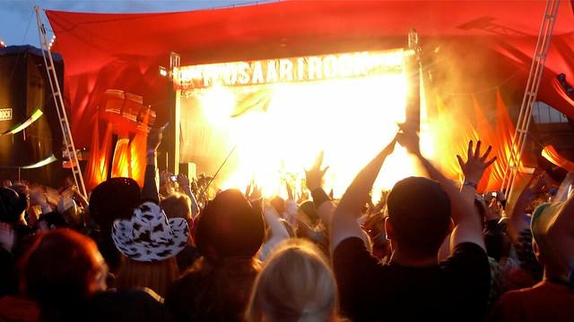 Ilosaarirock, festival de verano en Finlandia