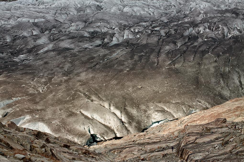 Suiza - Las montañas - Glaciar Alestch detalle 4