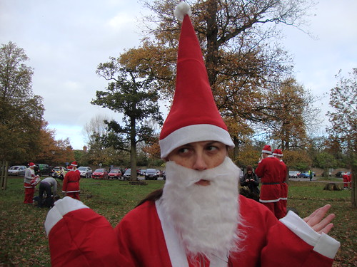 Santa Run Pointy Hat 1