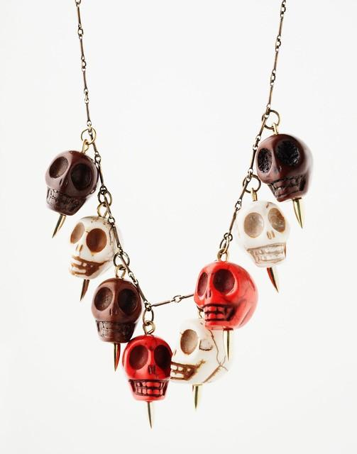 8 Skull Necklace