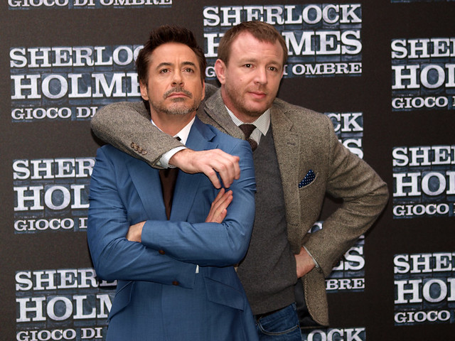 Robert Downey Jr. & Guy Ritchie
