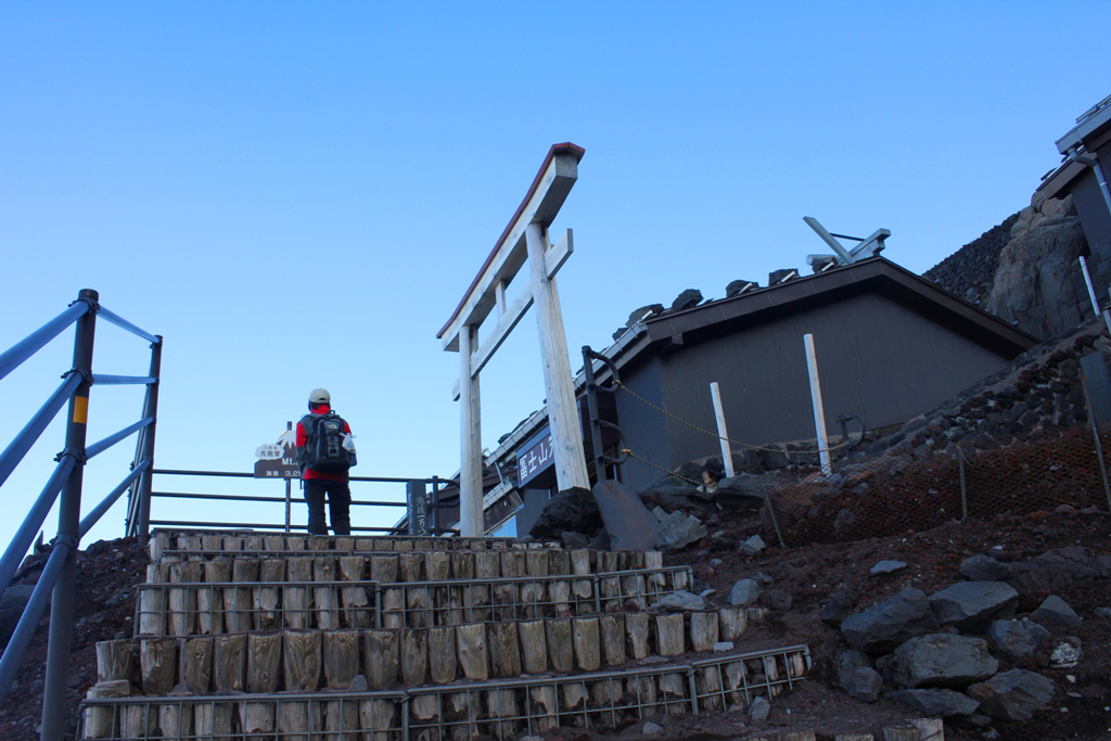 Mt. Fuji experience report (Yoshida route) Part2 (11)