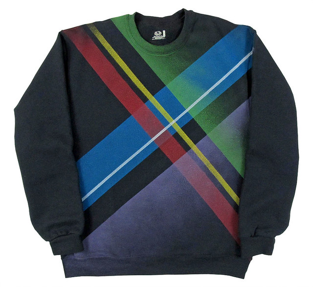 Spraypaint Sweaters Series.