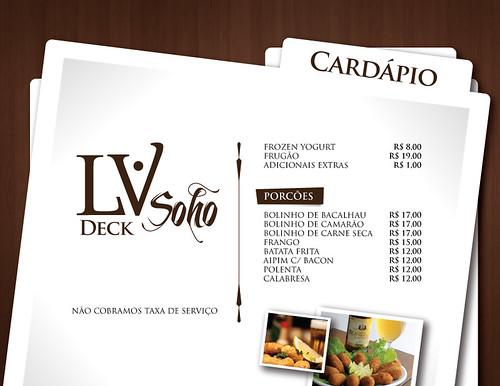 LV Deck Cardápio by chambe.com.br