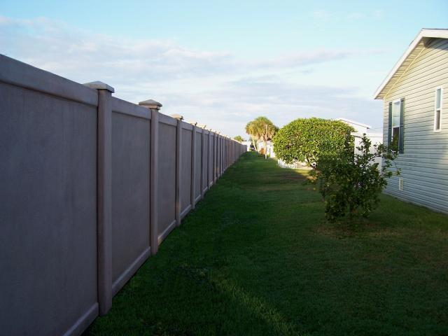 Precast concrete fence walls texas 8 flickr photo sharing - Precast concrete fences ...
