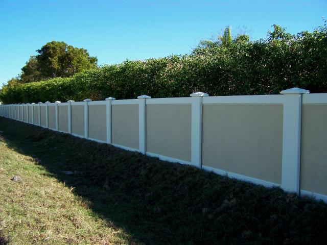 Precast concrete fence walls south carolina 34 flickr photo sharing - Precast concrete fences ...