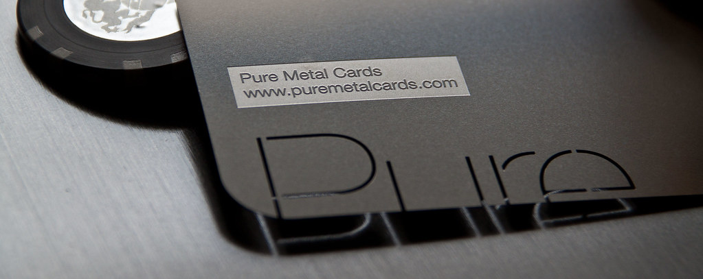 Pure metal cardss most interesting flickr photos picssr metal business card by pure metal cards reheart Images