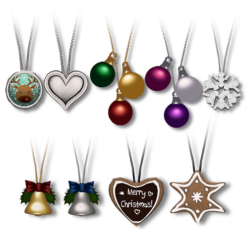 Christmas Necklaces (Gatcha)