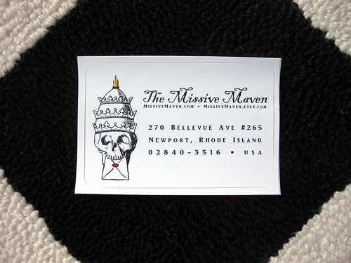 Missive Maven label