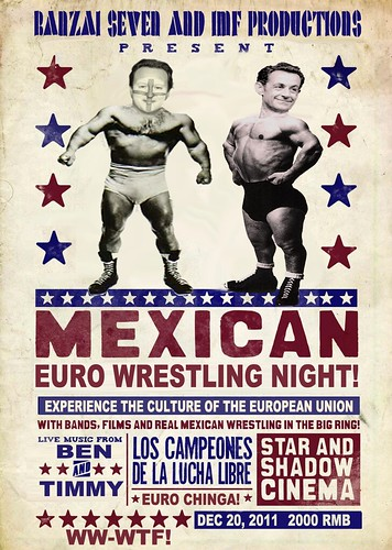 MEXICAN EURO WRESTLING by Colonel Flick
