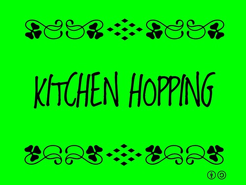 Buzzword Bingo: Kitchen Hopping = Visiting kitchens in local homes on a customized tour