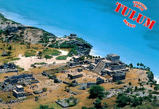 Tulum from Air (Postcard)