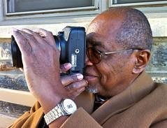 His first digital camera