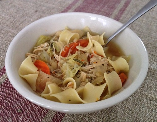 Finally made homemade chicken soup