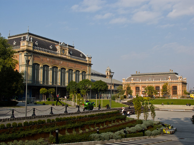 Central Train Station in Budapest