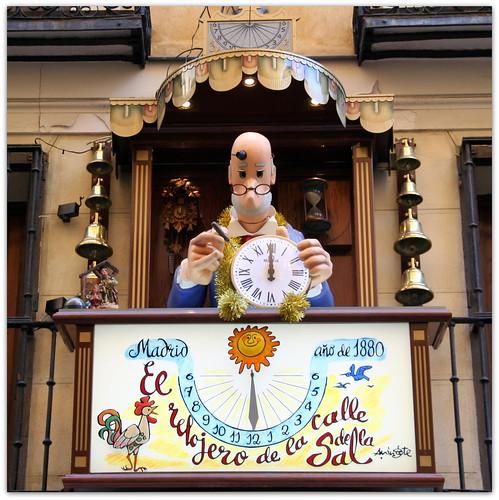 Calles de Madrid: el relojero