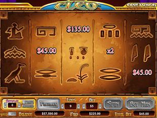 Cleo Queen of Egypt Slots Bonus Game