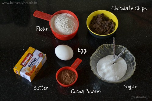 double chocolate cookies ingredients
