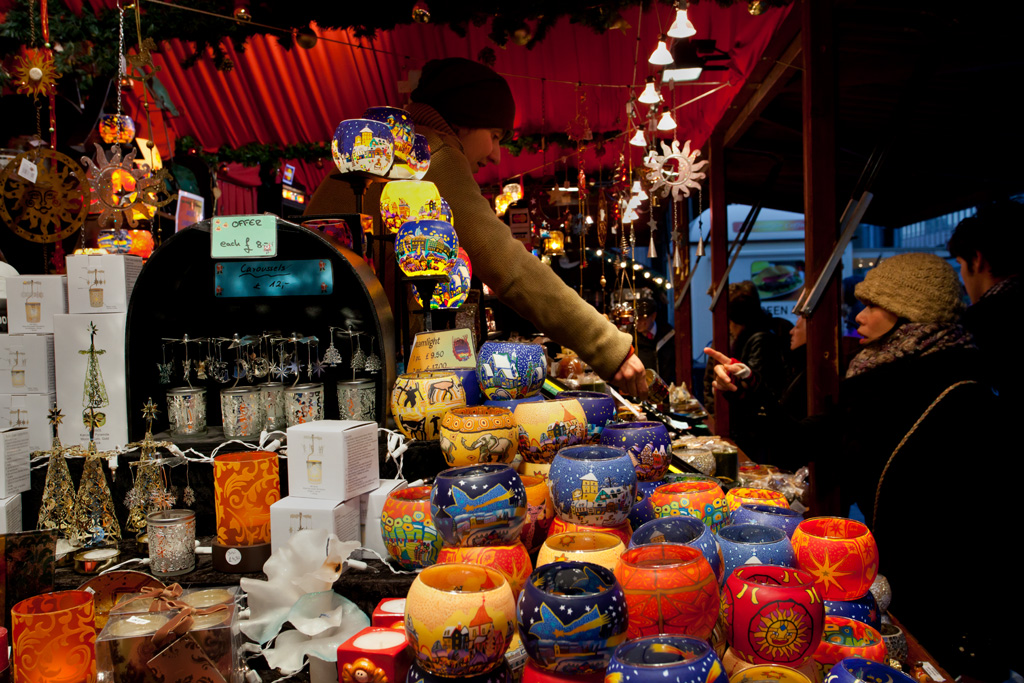 Traditional German Christmas Market