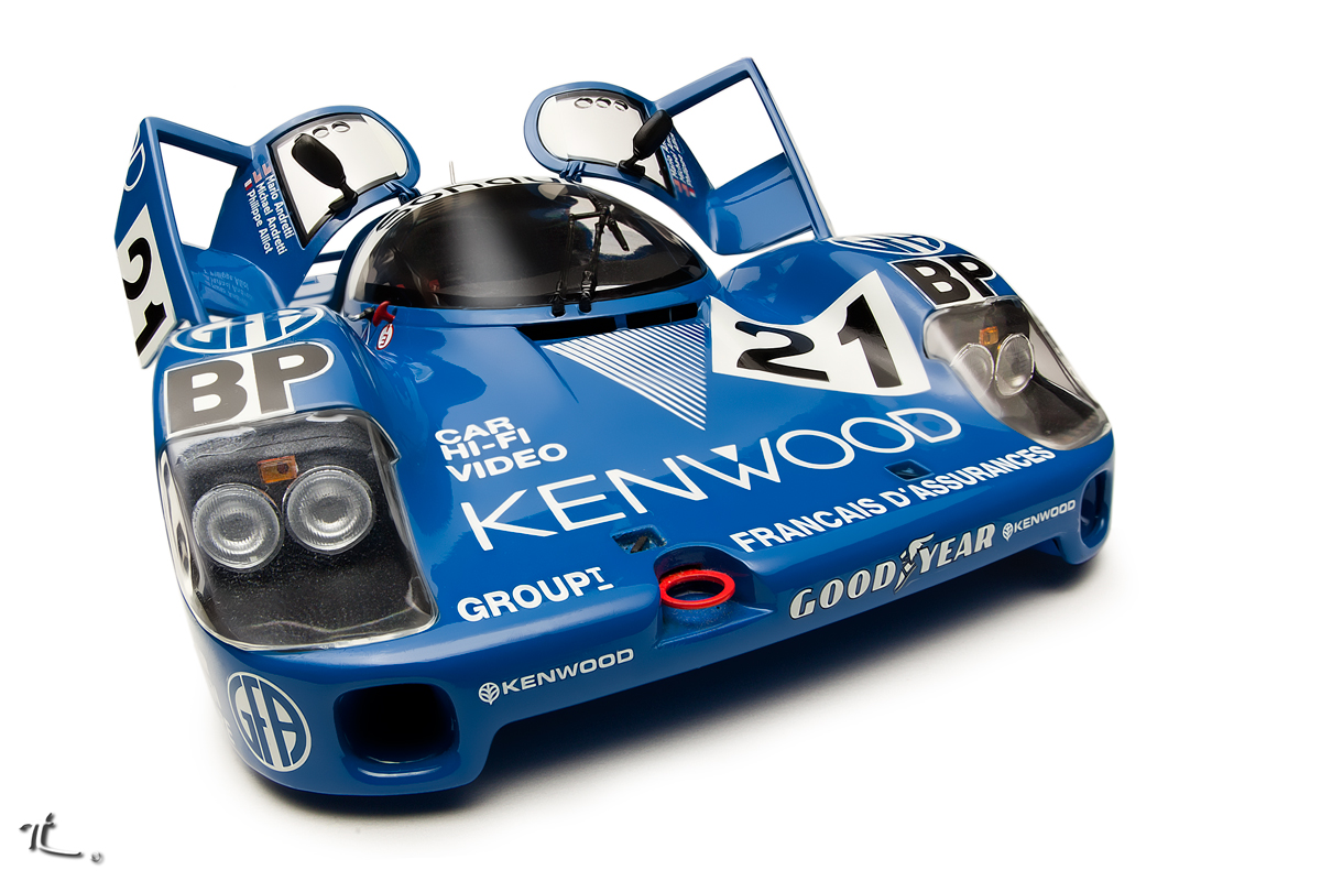porsche 956l andretti le mans 1983 dx motorsports diecast cars forums. Black Bedroom Furniture Sets. Home Design Ideas