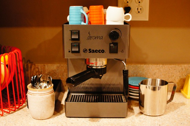 New used espresso machine