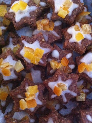 orange cinnamon stars