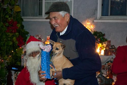 Papá Chepe, Daisy and Santa