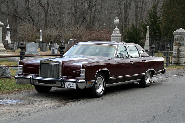 1978 lincoln continental town car american luxury by alex nunez flickr photo sharing. Black Bedroom Furniture Sets. Home Design Ideas