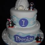 Snowflake 1st Birthday Cake 1st Birthday Cake