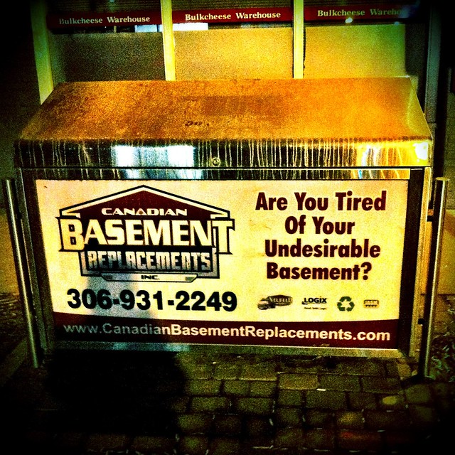 undesirable basement