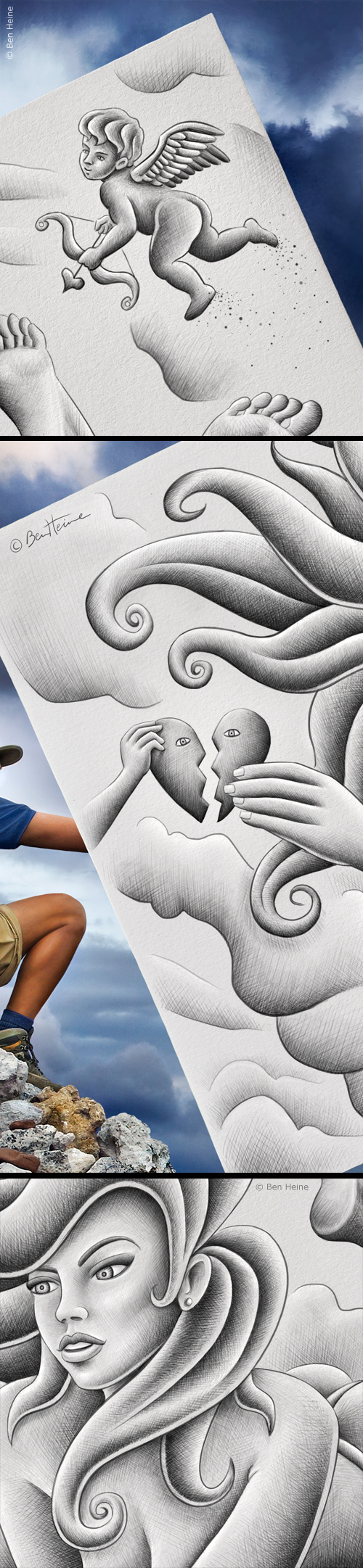 - Details - Pencil vs Camera - 61 (Ben Heine)
