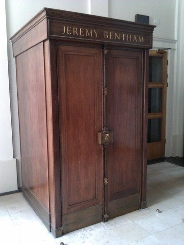 Jeremy Bentham is in the closet