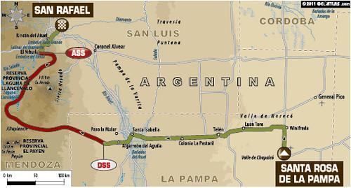 Etapa 2 Dakar 2012