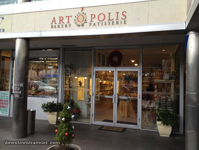 Artopolis Greek bakery in Astoria NYC_store front
