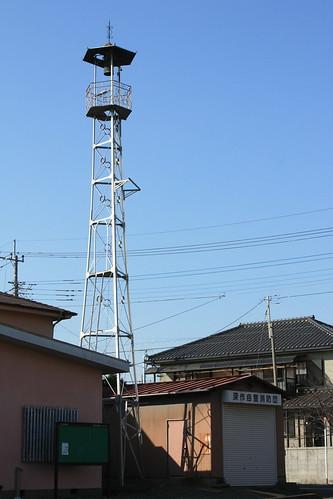深作の火の見櫓(さいたま市見沼区)