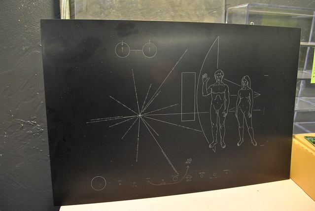 Voyager 1 Plaque - Pics about space