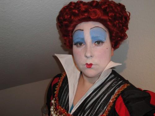 Queen of Hearts 1 von Enddra Queen Of Hearts Makeup Tim Burton