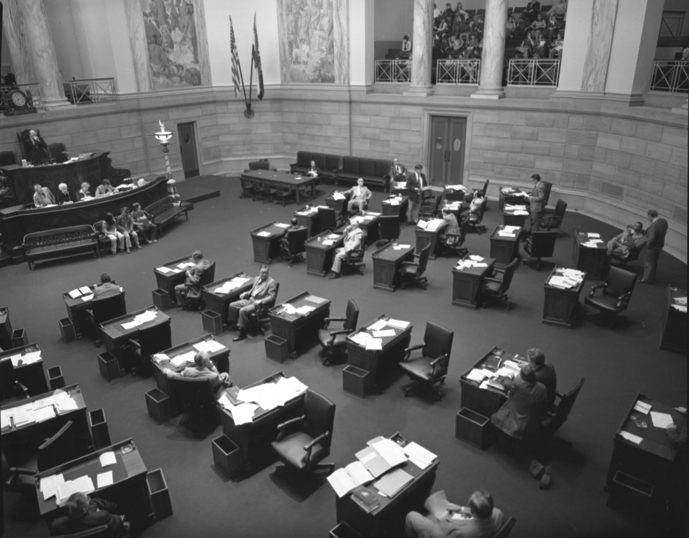 Senate in Session, Missouri General Assembly (MSA)