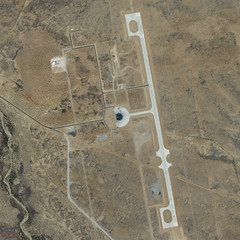 Spaceport America… from space!