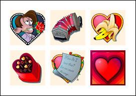 free Monkey Mania slot game symbols