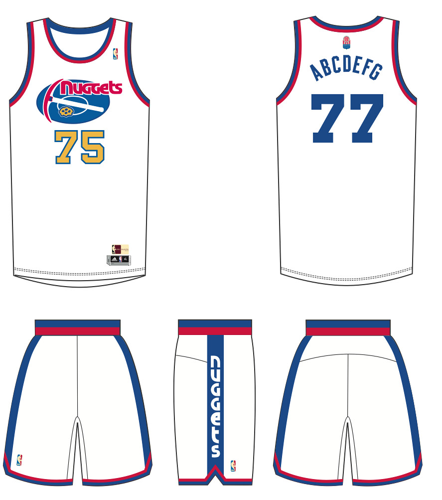 9f6a28146 NBA unveils ABA throwback uniforms for Bobcats