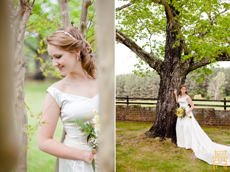 gray and yellow outdoor vintage wedding_025
