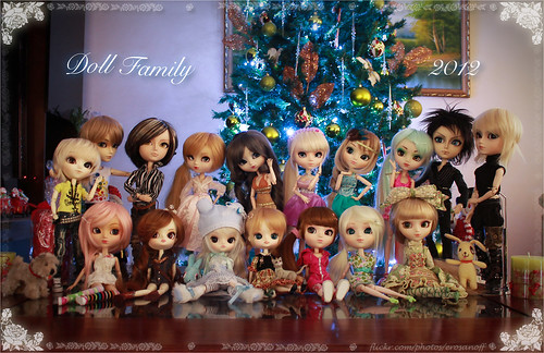 My doll family ^_^