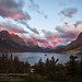 Stormy Sunrise, Glacier National Park by jimgoldstein