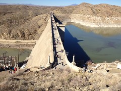 Walk Across Elephant Butte Dam by mikeysklar